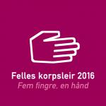 Leirmerket for Felles Korpsleir 2016